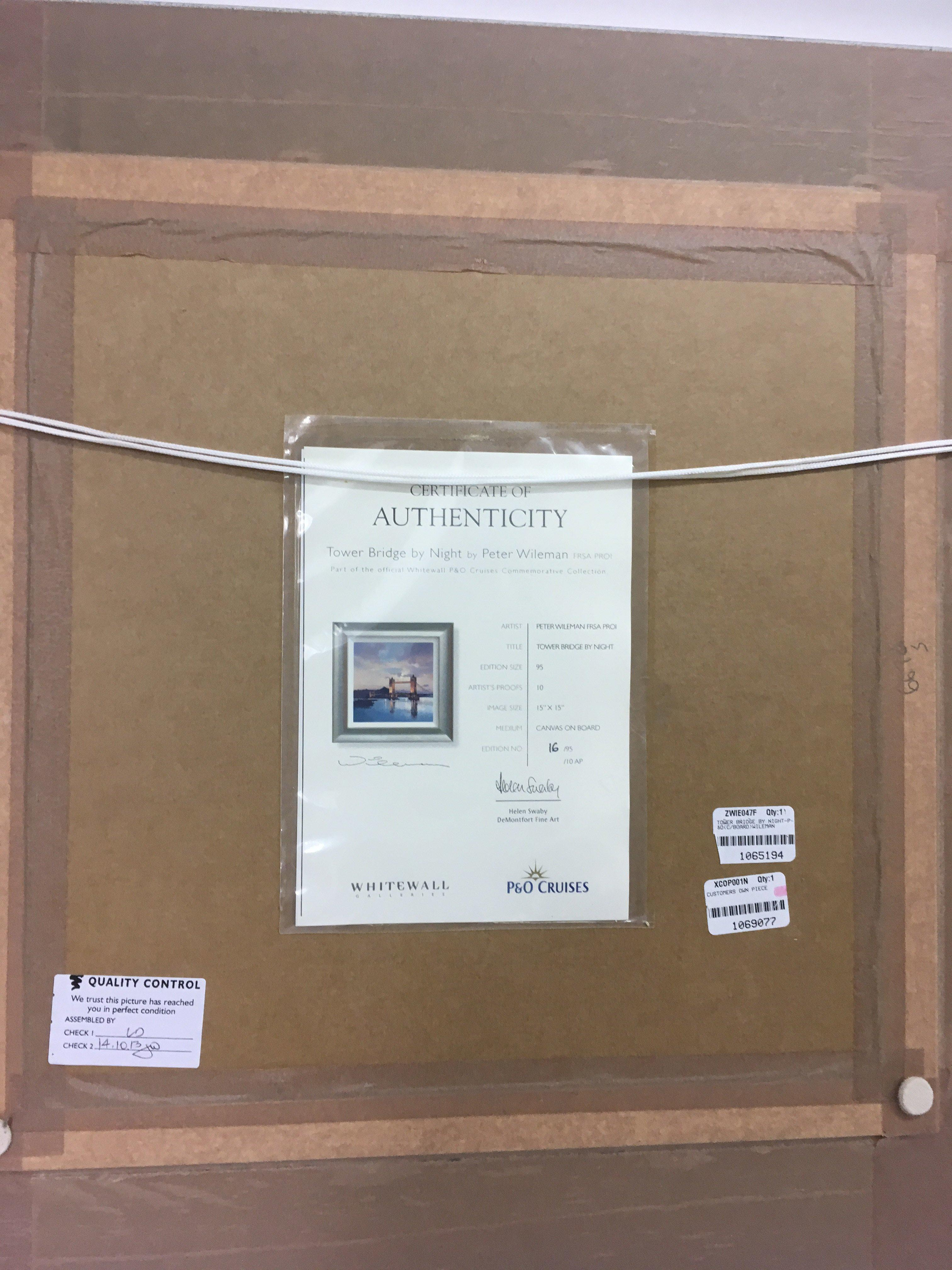 Lot 1211 - A limited edition, Philip Gray canvas on board pai