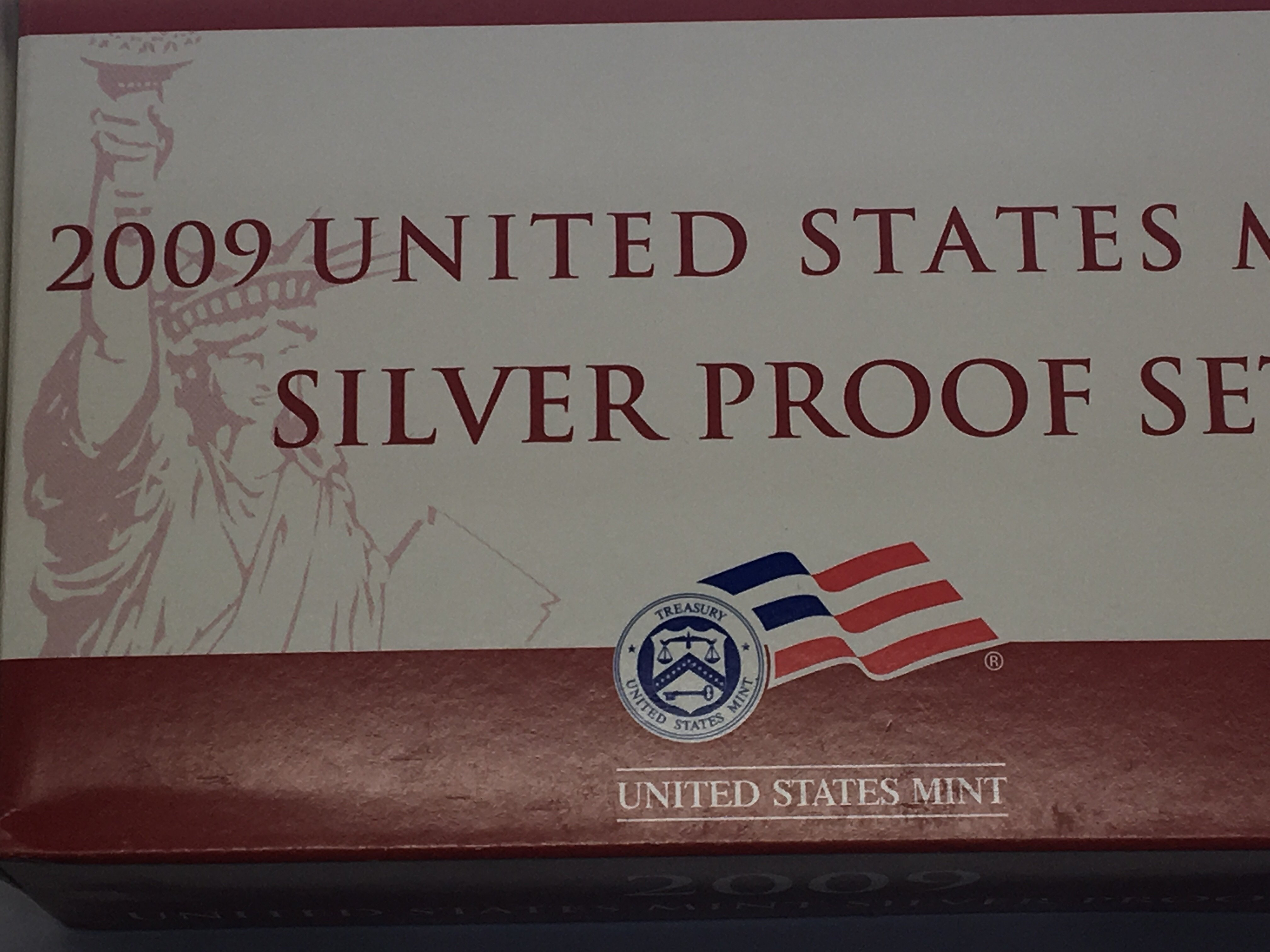Lot 123 - A Complete set of United Sates Mint Silver Proof s