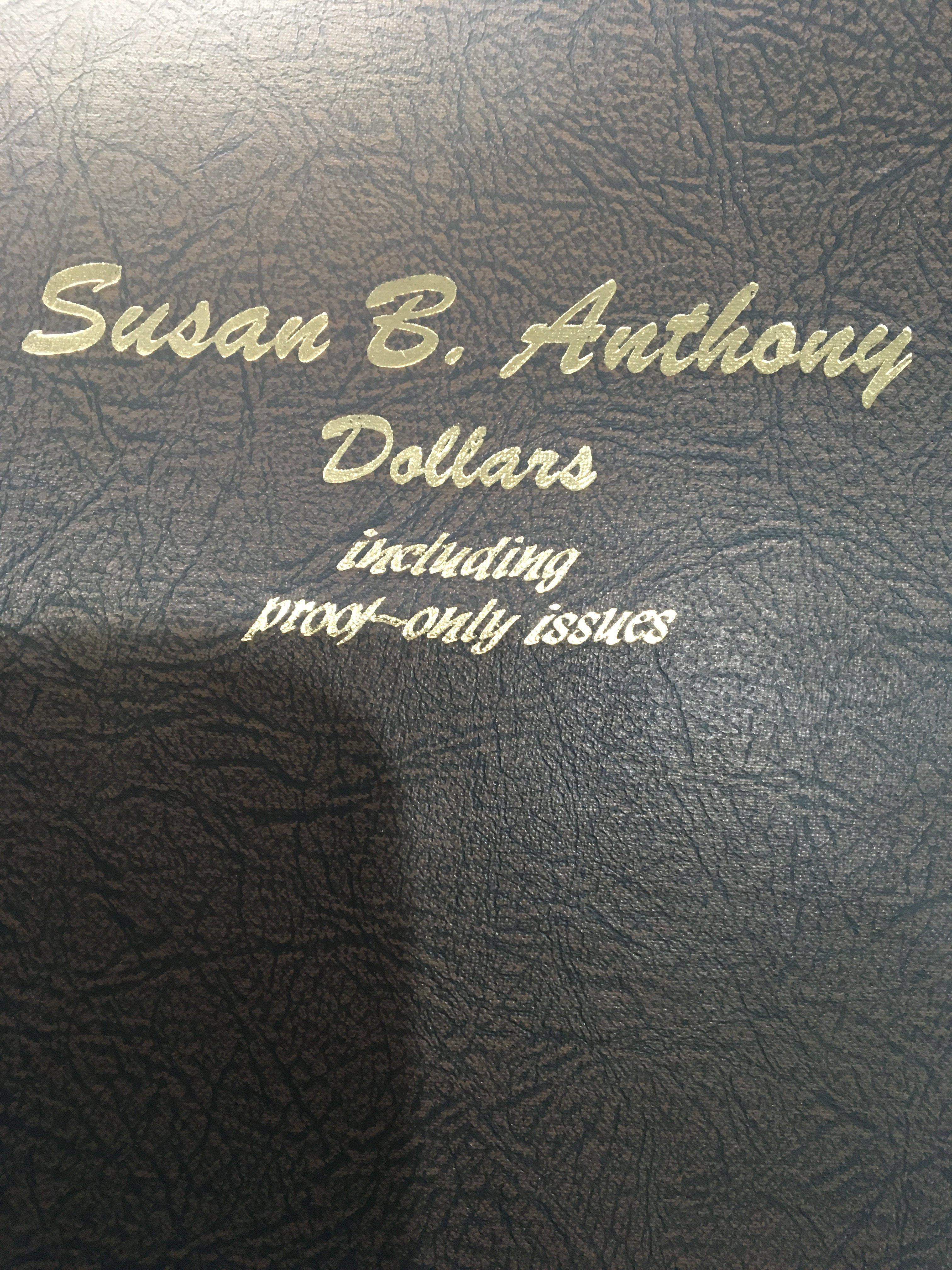 Lot 105 - An Album containing Susan B Anthony Dollars. Proof