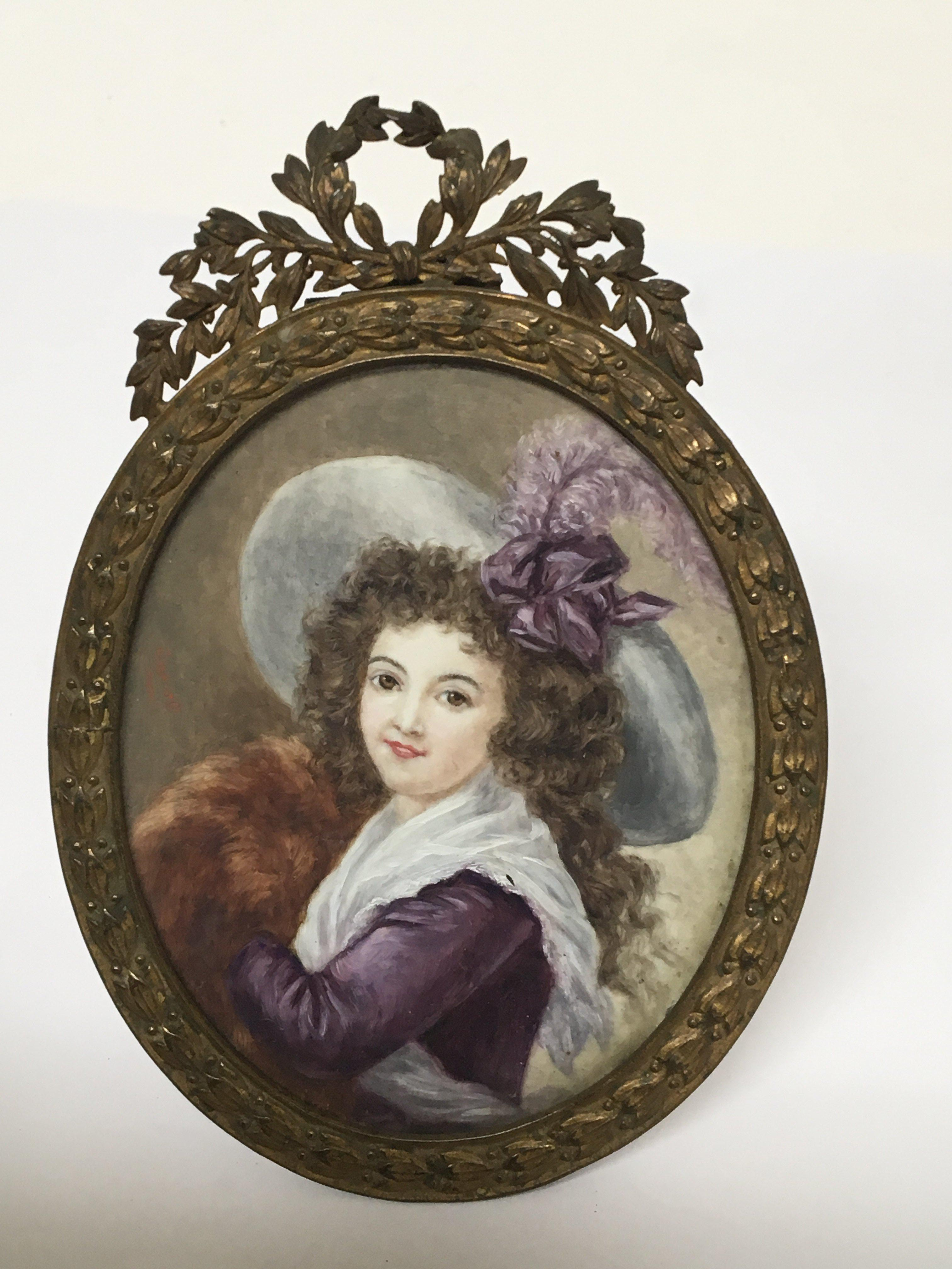 Lot 651 - A Quality Early 20th Century Portrait miniature of