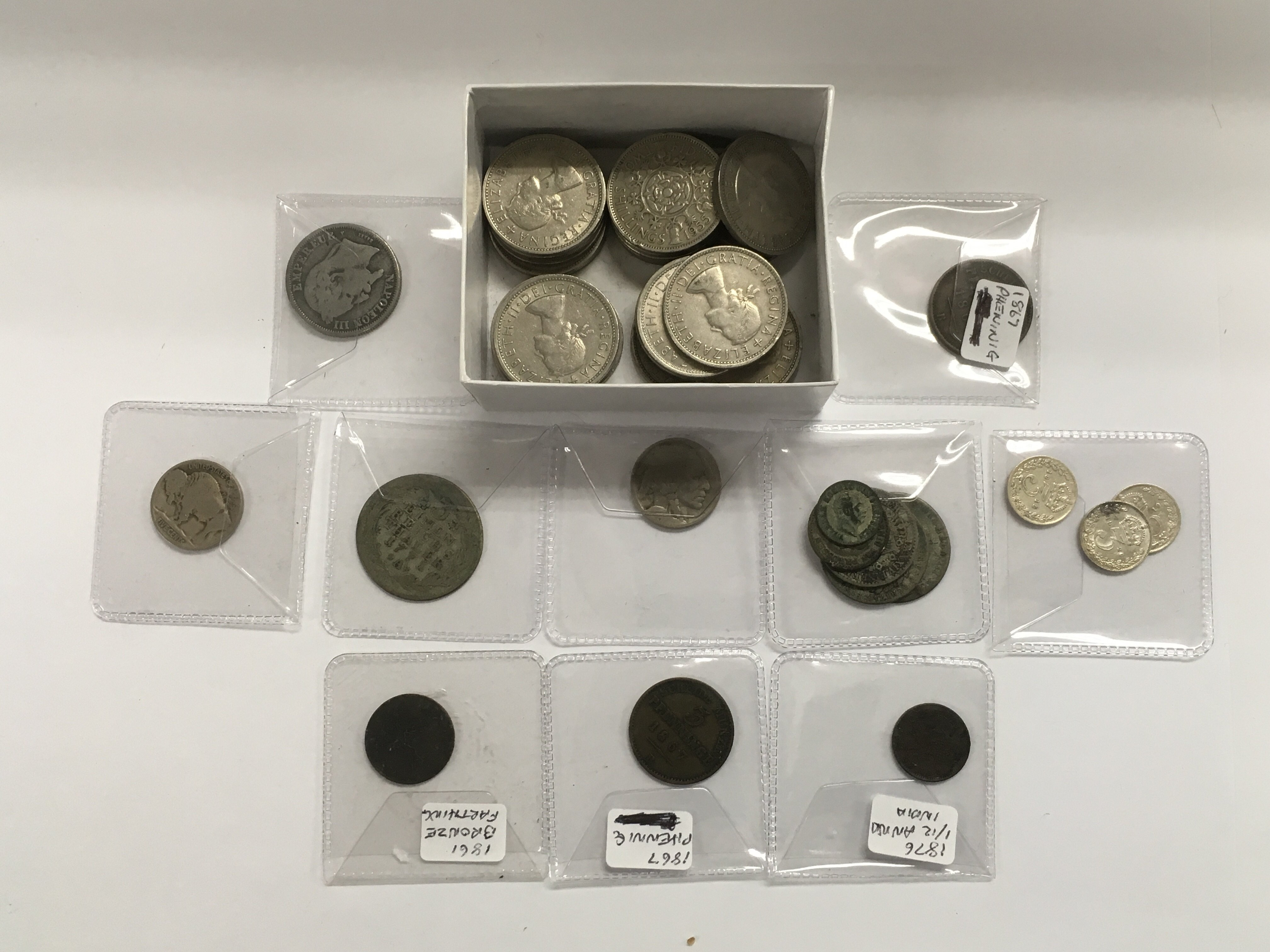 Lot 391 - A collection of early silver coinage plus approx 2