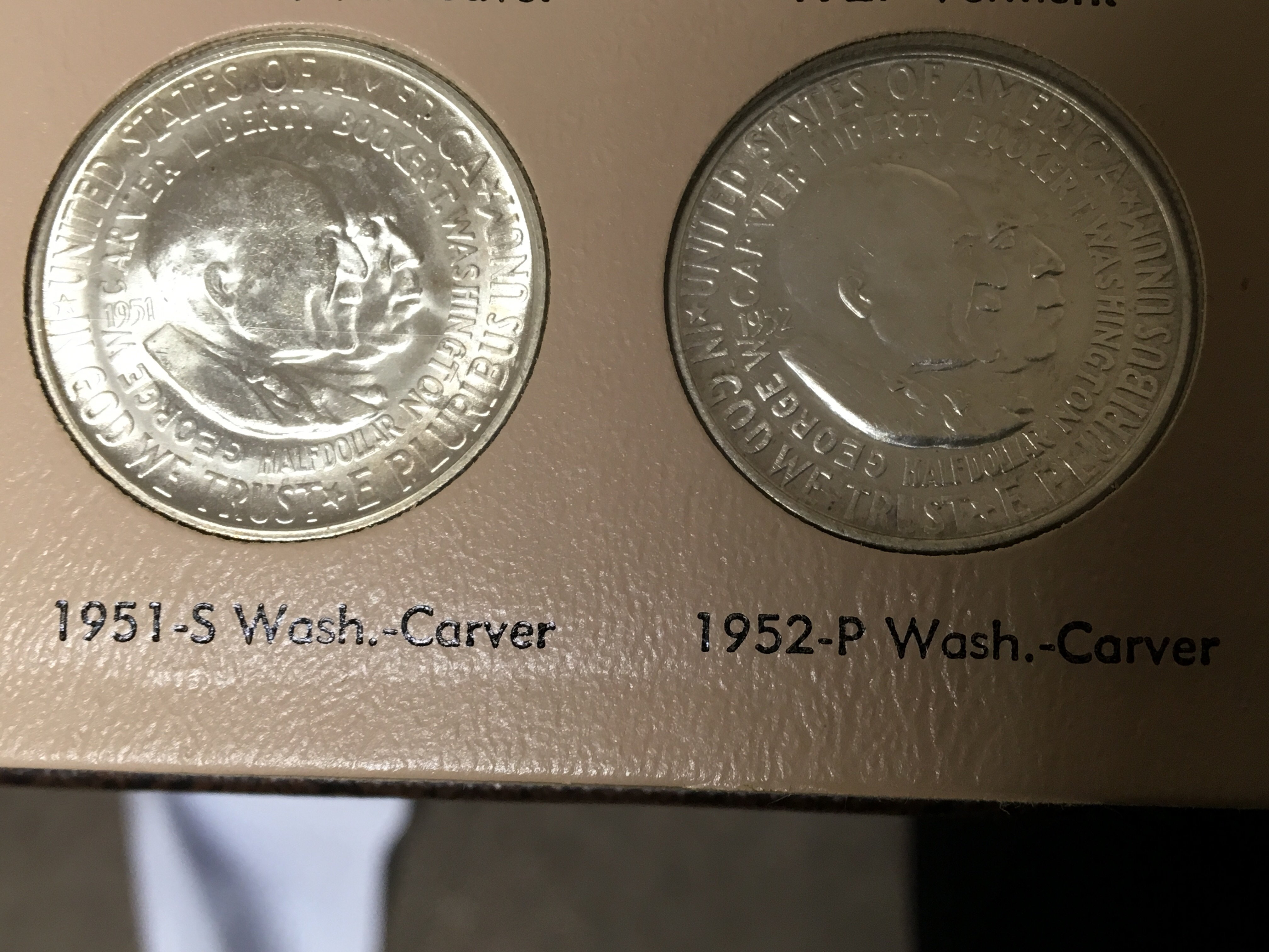 Lot 148 - A Collection of American Half Dollars. Booker T Wa