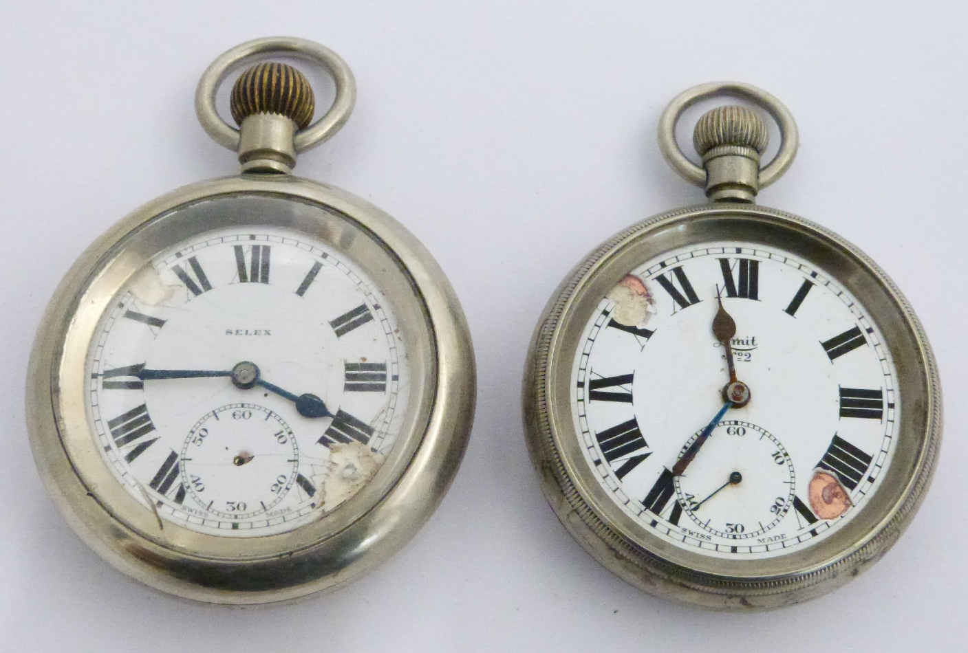 Lot 49 - Two London North Eastern Railway keyless winding open faced pocket watches, one Limit the other