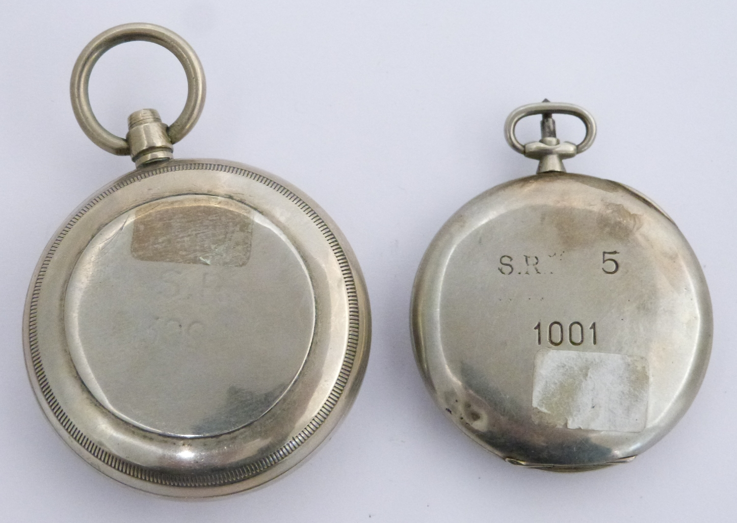 Lot 47 - Southern Railways Waltham keyless winding open faced pocket watch with subsidiary seconds dial,