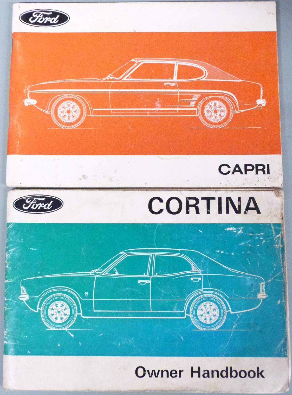 Lot 5 - Quantity of car manuals to include Triumph Herald, Morris Minor, Volkswagen, Jaguar XJ6, Austin