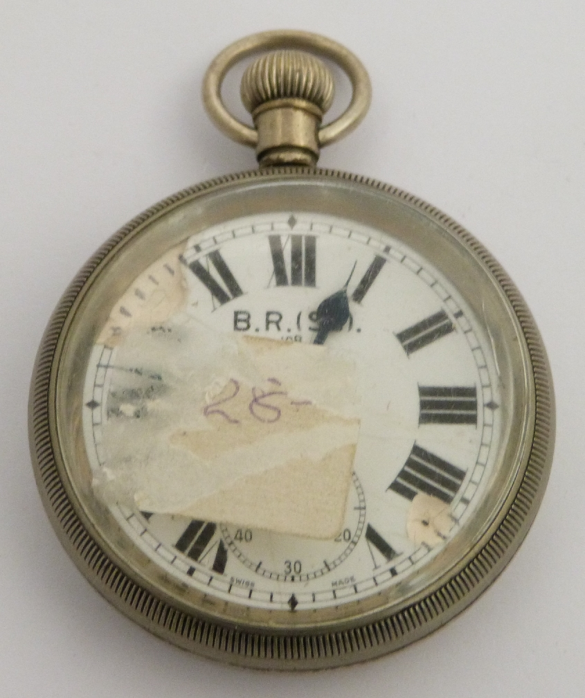Lot 51 - British Railways Scottish Region keyless winding open face pocket watch with subsidiary seconds