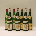 Lot 13 - Assorted Alsace Wines to include: Vin d'Alsace, Muré, Grains Noble, Tokay d'Alsace, 1983, three