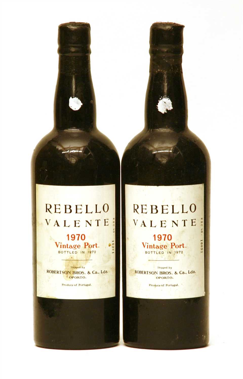 Lot 44 - Rebello Valente, 1970, two bottles