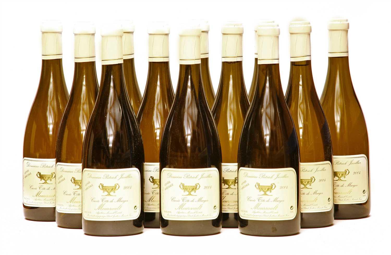 Lot 7 - Domaine Patrick Javillier, Cuvée Tête de Murger, Meursault, 2004, twelve bottles (boxed)