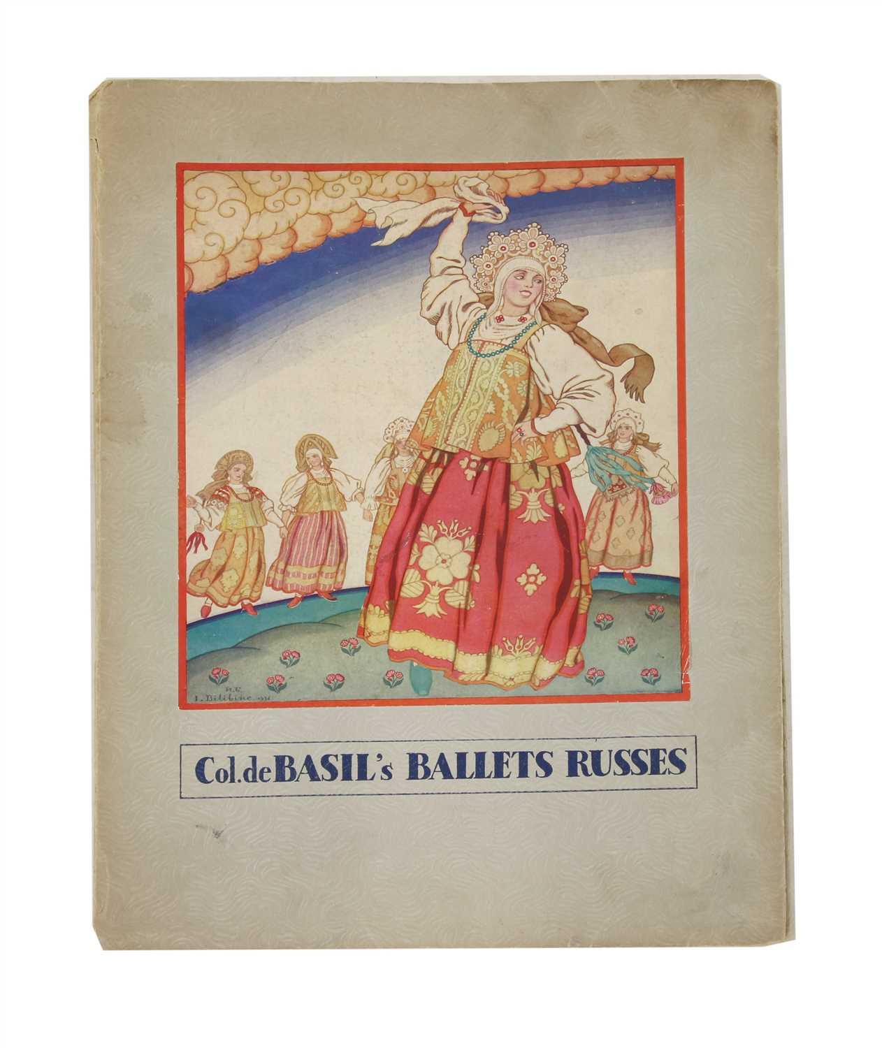 Lot 41 - BALLETS RUSSES - ROYAL OPERA HOUSE COVENT GARDEN 1936,