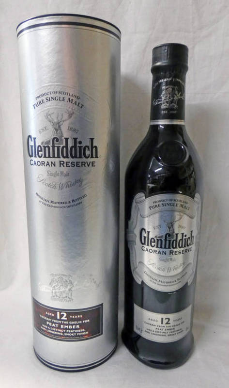 Lot 4020 - 1 BOTTLE GLENFIDDICH 12 YEAR OLD CAORAN RESERVE SINGLE MALT WHISKY - 70CL, 40% VOL,