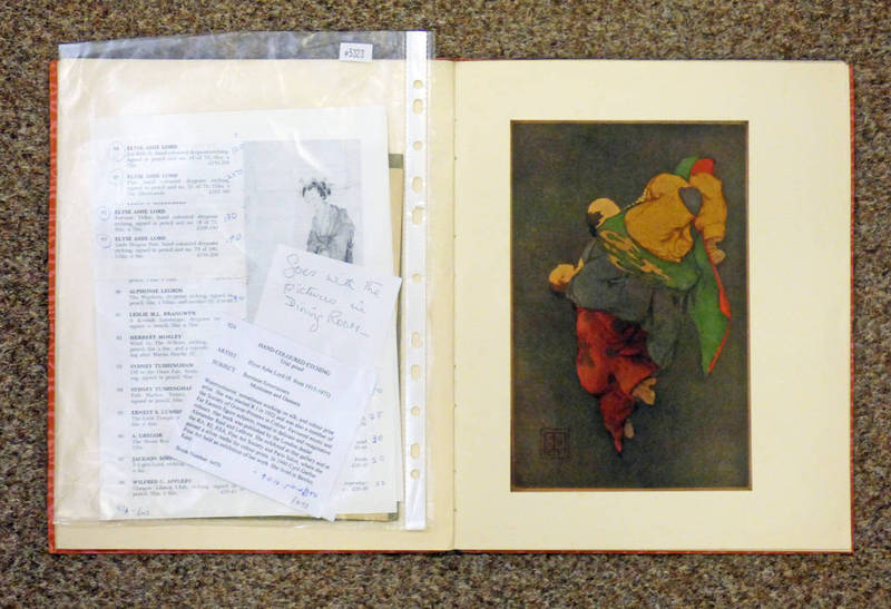 Lot 1117 - MASTER'S OF THE COLOUR PRINT 1 : ELYSE LORD BY MALCOLM C.
