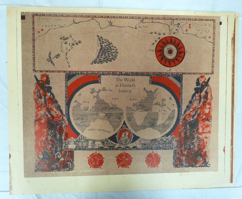 Lot 6344 - 10 UNSIGNED PRINTS OF 'THE WORLD AS ELIZABETH KNEW IT' & 'TILBURY DOCKS'