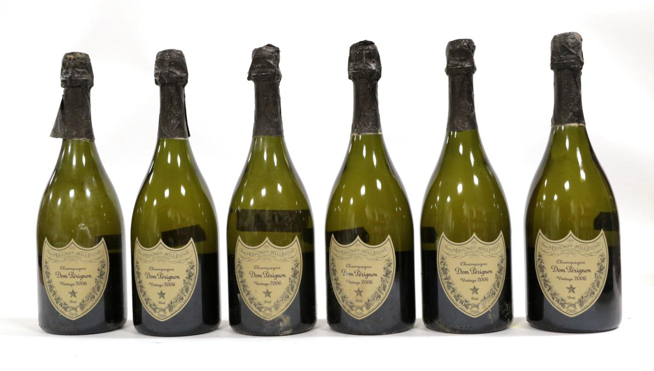 Lot 2025 - Moët et Chandon Dom Pérignon 2006 (six bottles)