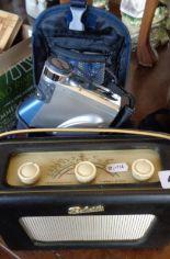Lot 40 - Vintage Roberts Radio and an Ouyama Digital Video Camcorder