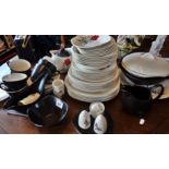 Lot 41 - Midwinter Stylecraft Fashion shape dinner and tea service (57 pieces)