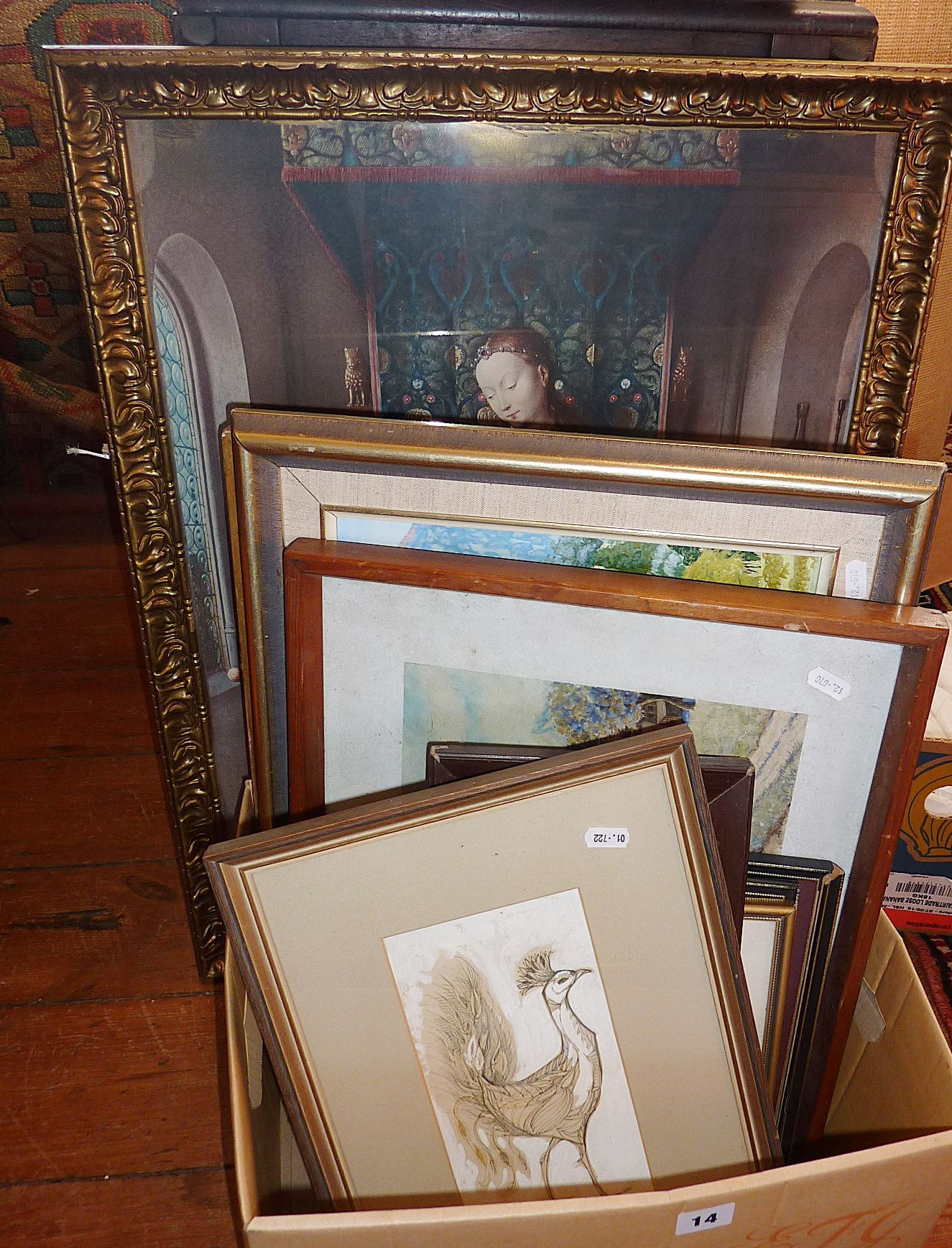 Lot 14 - Collection of prints and drawings