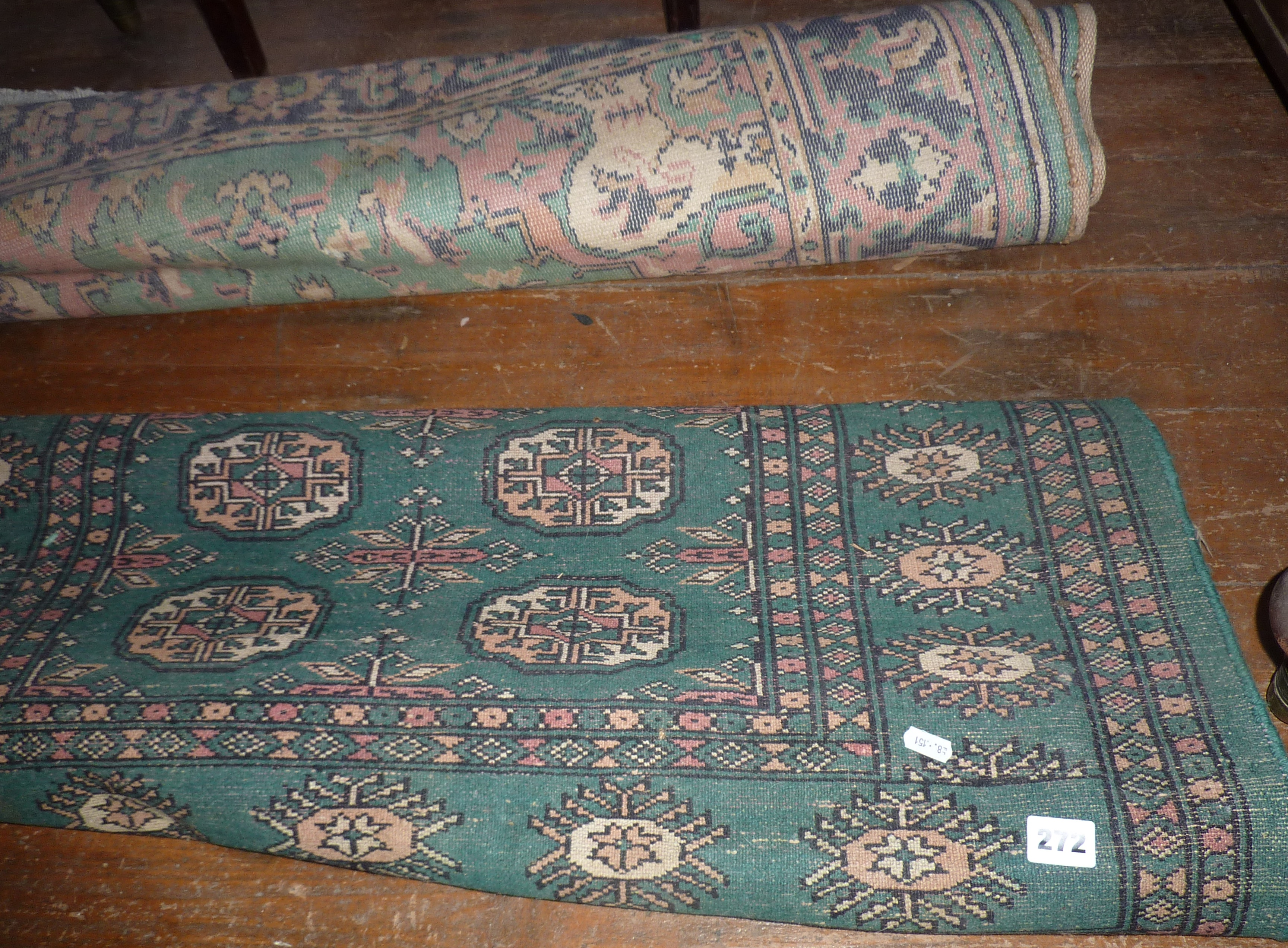 Lot 272 - Two floor rugs