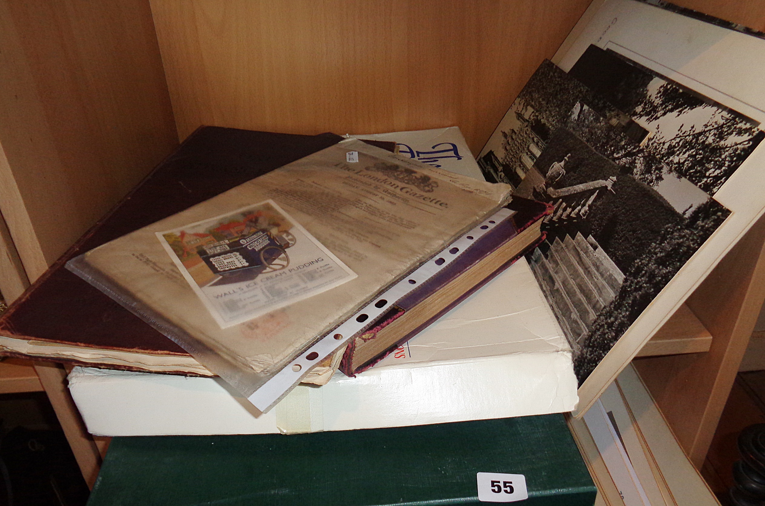 "Lot 55 - Quantity of photographic club studies and seven souvenir editions of the ""Geelong Advertiser"""