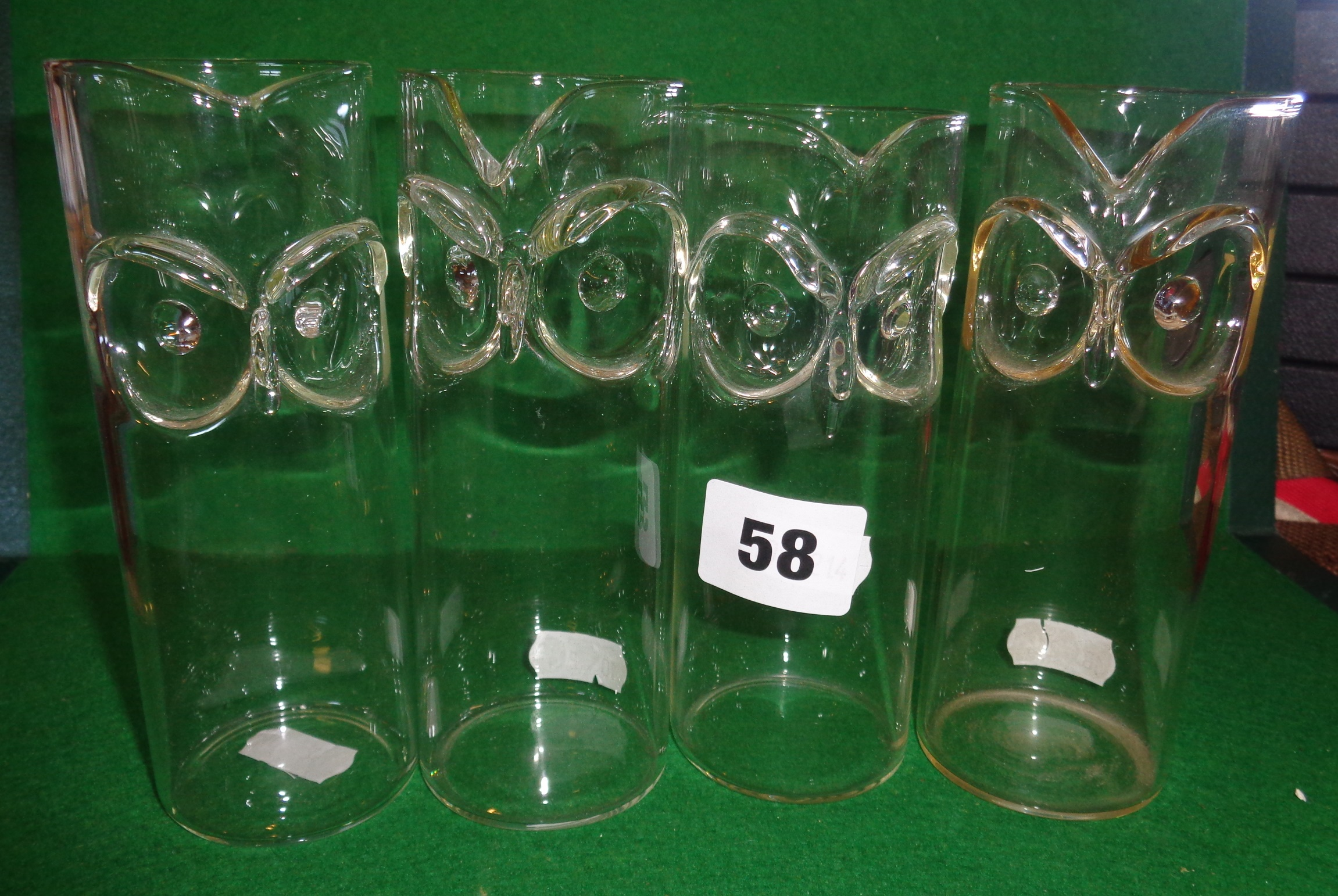 Lot 58 - Four Czechoslovakian jugs by Vera Liskova