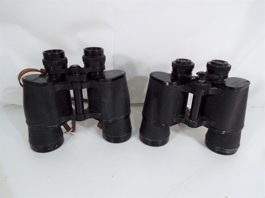 Lot 35 - A pair of Anton & Gerhardt hard coated optics binoculars with a 10 x 50 magnification, Field 5,