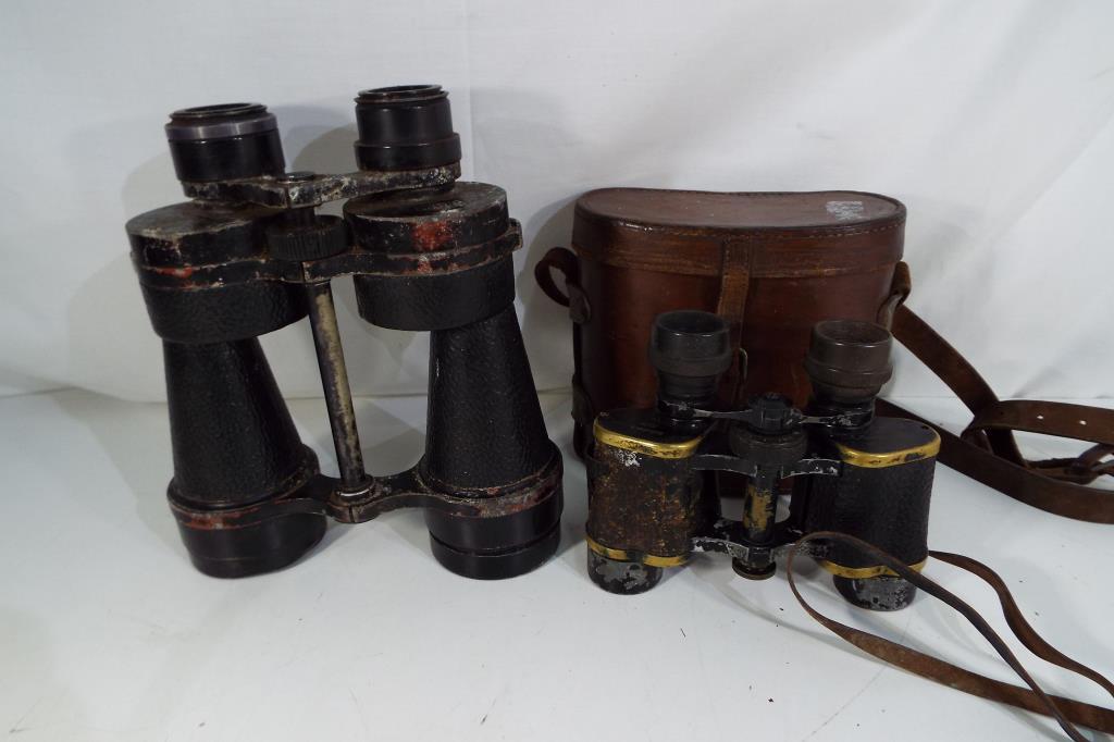 Lot 54 - A pair of Ross London Stepmur 10 x 50 binoculars,