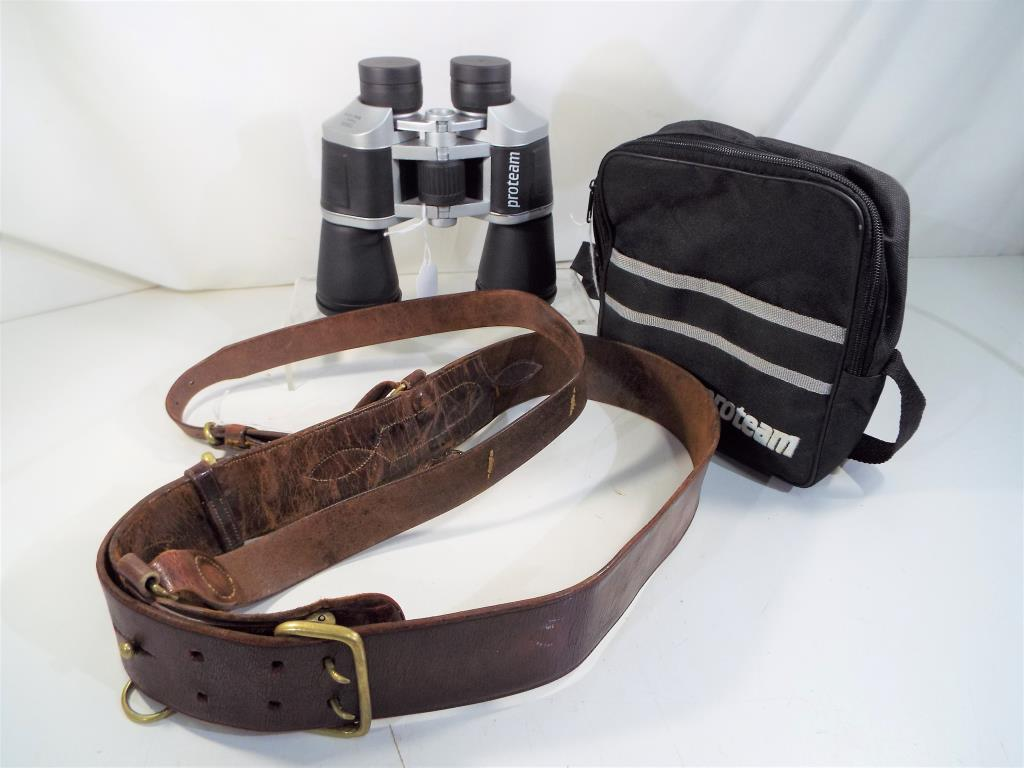 Lot 37 - A pair of Proteam binoculars 10 x 50 field 5.