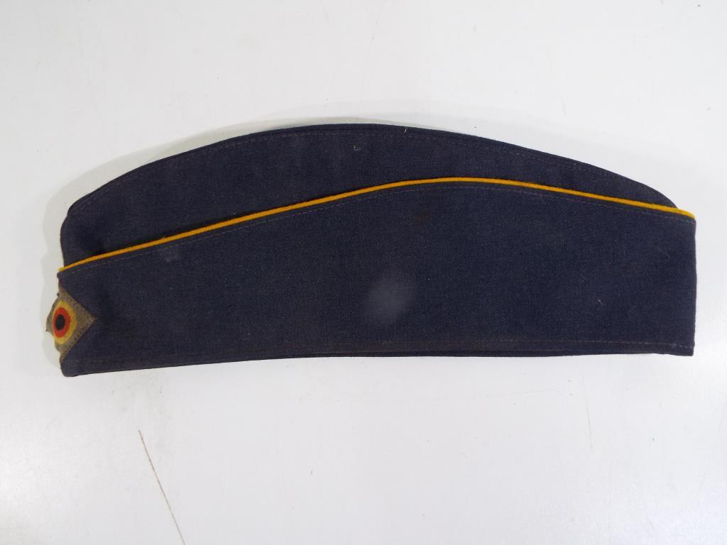 Lot 52 - A German Airforce Garrison cap,