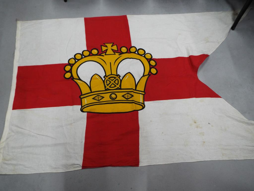Lot 44 - An Elder Dempster and Co house flag, swallow tail,