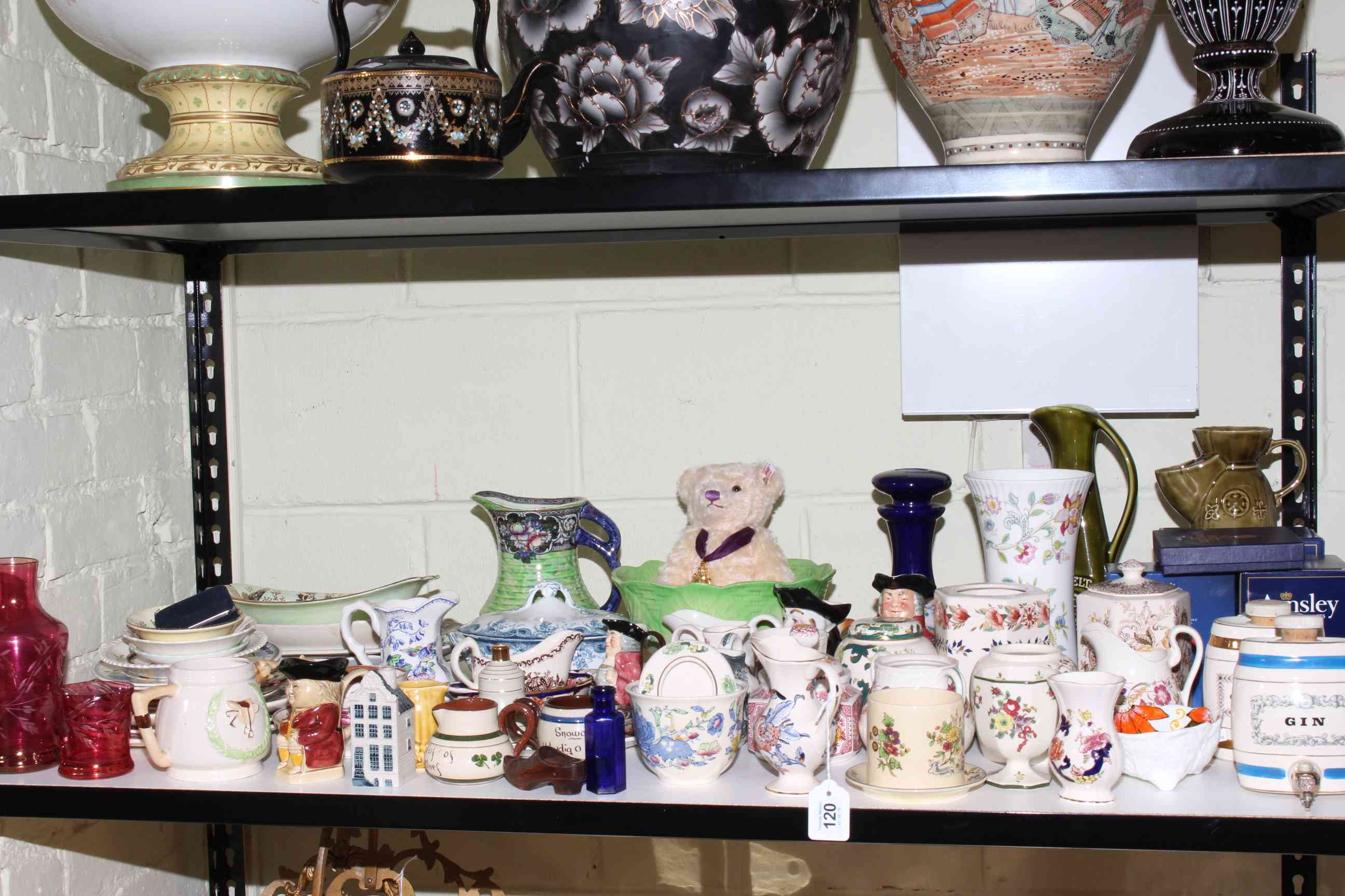 Lot 120 - Large collection of china including Masons, Maling, Aynsley, etc.