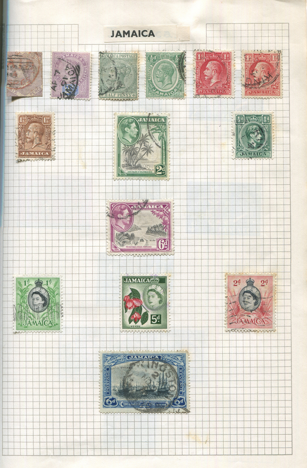 Lot 3055 - A collection of world stamps in albums and loose in packets.Buyer's Premium 29.4% (including VAT @