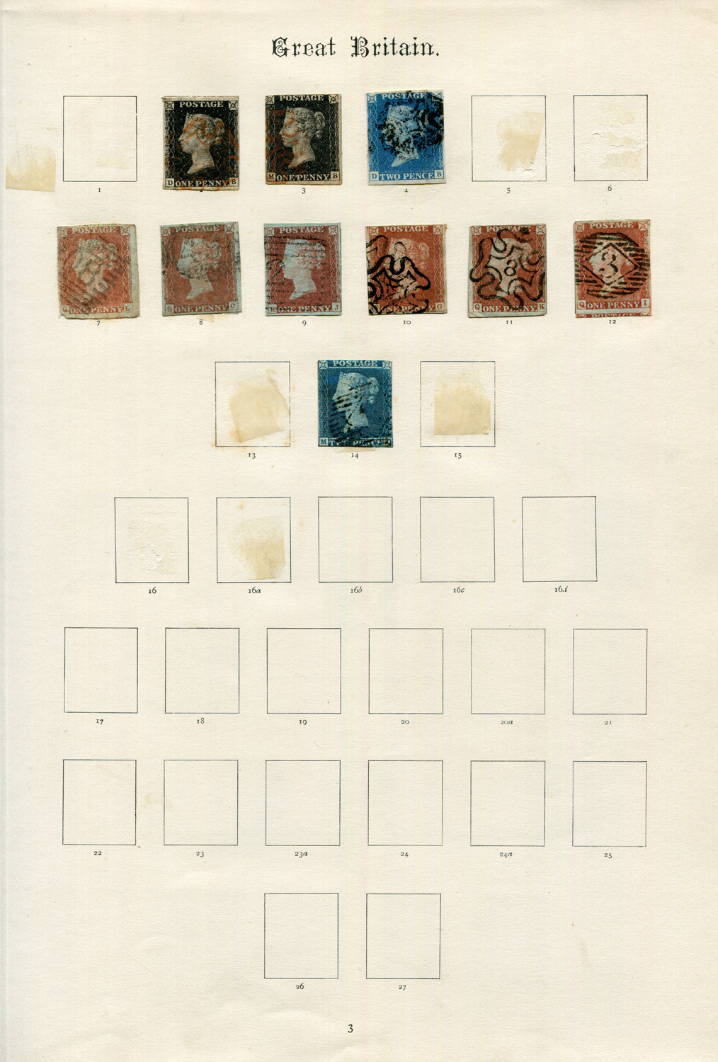 Lot 3059 - A collection of Great Britain stamps in two Windsor albums, another album, small stock book and some