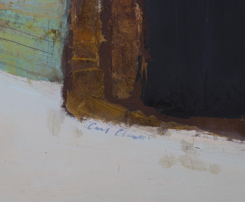 Lot 34 - Carl Cheek - 'No. 15 Summer Flight', 20th century oil on board, signed recto, titled verso, 121.