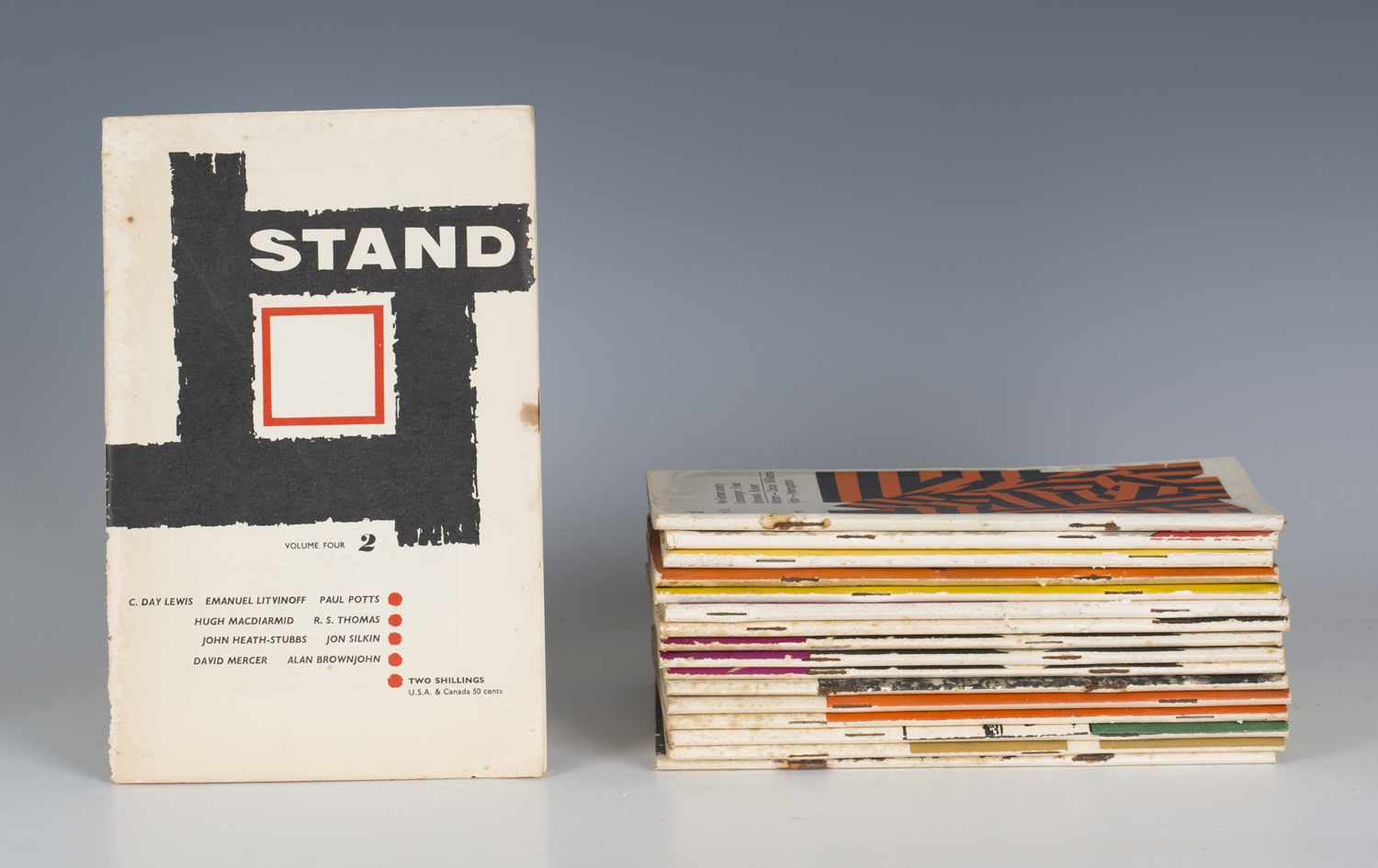 Lot 3151 - POETRY. - Jon SILKIN (editor). Stand Magazine. Leeds and Newcastle: Anthony Blond, 1960-2000. 151