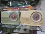 Lot 4054 - A Bush TR82 radio with Radio Luxenbourg button and another