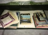 Lot 13 - A mixed lot of ephemera including scrap books, children's books, song/music sheets etc.