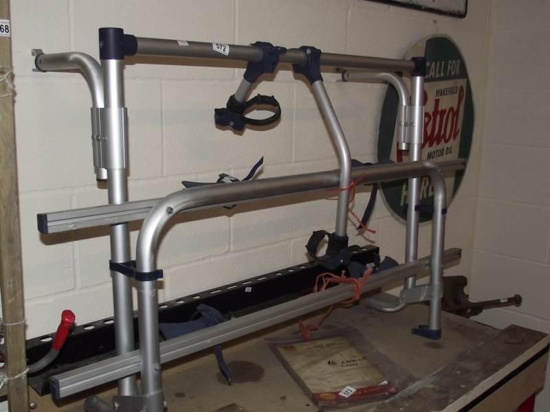 Lot 572 - An Omni-bike bicycle rack.