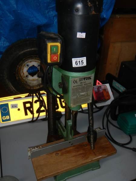 Lot 615 - A Nu-tool NM2-2 mortise machine,