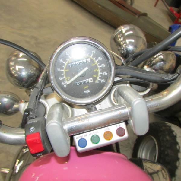 Lot 738 - A 1988 Yamaha Virago XV535 (E891 WUM), 13834 miles.