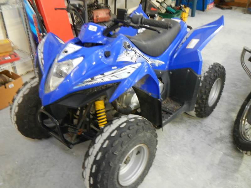 Lot 736 - A Mongoose 90s quad bike.
