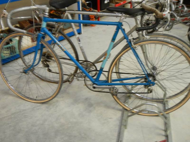 Lot 732 - A 1960's viking racing bike.