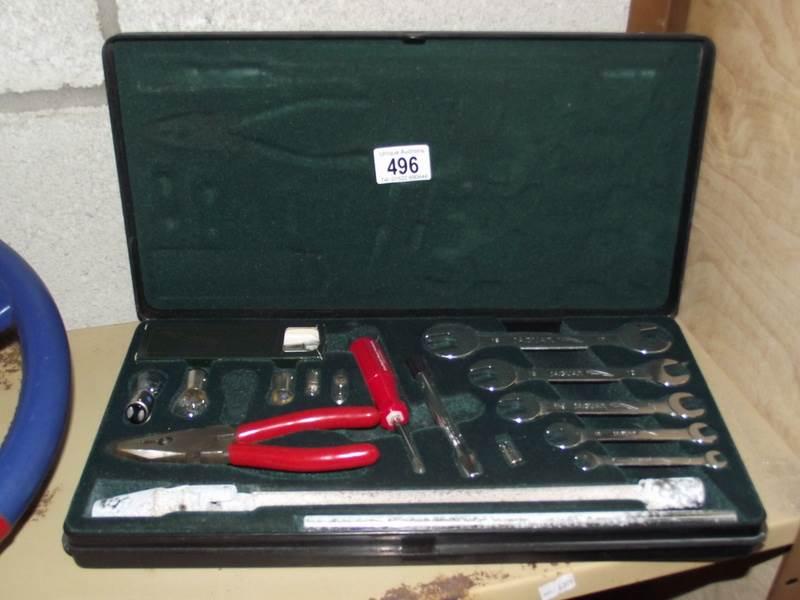 Lot 496 - A Jaguar tool kit.