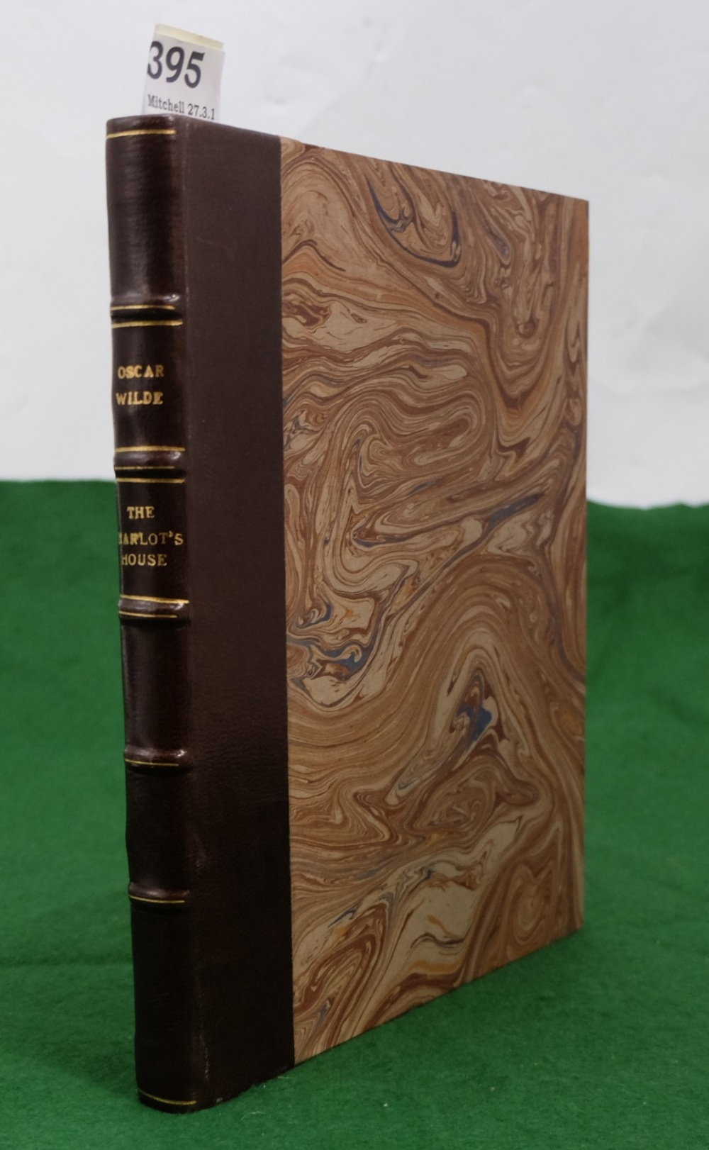 Lot 395 - BOOK - Oscar Wilde, the Harlot's House, 1929, First illustrated edition by John Vassos, New York,