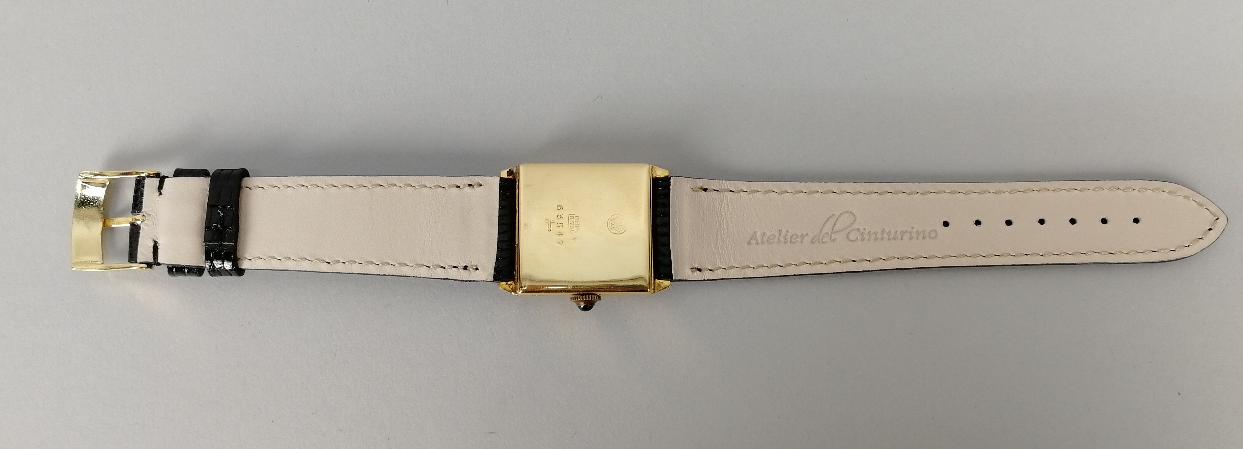 Lot 34 - NITEX. Orologio unisex in acciaio di forma quadrata. Quadrante originale. Epoca 1950. Funzionante
