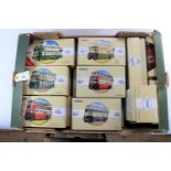 Lot 268 - 18 Corgi Classic. Sunbeam Trolleybus, Reading. Karrier Trolleybus - Ipswich Corp. 5x Guy Arab -