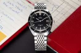 A GENTLEMAN'S STAINLESS STEEL OMEGA SEAMASTER 120 AUTOMATIC DATE BRACELET WATCH DATED 1971, REF.