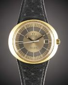 A RARE GENTLEMAN'S 18K SOLID GOLD OMEGA GENEVE DYNAMIC AUTOMATIC WRIST WATCH CIRCA 1970s Movement: