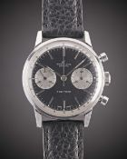 "A GENTLEMAN'S STAINLESS STEEL BREITLING TOP TIME ""THUNDERBALL"" CHRONOGRAPH WRIST WATCH CIRCA 1965,"
