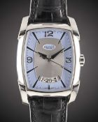 A GENTLEMAN'S STAINLESS STEEL PARMIGIANI FLEURIER FORMA XL WRIST WATCH DATED 2004, REF. PF009235