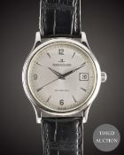 A GENTLEMAN'S STAINLESS STEEL JAEGER LECOULTRE MASTER CONTROL AUTOMATIQUE WRIST WATCH CIRCA 1996,